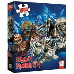 Iron Maiden: The Faces of Eddie - Puzzle (1000pcs)
