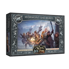 A Song of Ice & Fire Miniatures Game: Stark - Mormont She-Bears