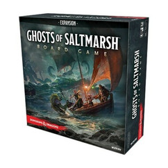 Dungeons & Dragons: Ghosts of Saltmarsh Adventure System Board Game Expansion (Standard Edition)