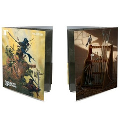 Ultra Pro Folio: Dungeons & Dragons - Fighter Class w/ Stickers (PREORDER)