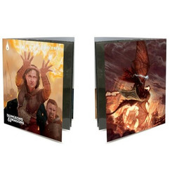 Ultra Pro Folio: Dungeons & Dragons - Sorcerer Class w/ Stickers (PREORDER)