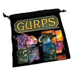 GURPS 4th Edition: Dice Bag (PREORDER)