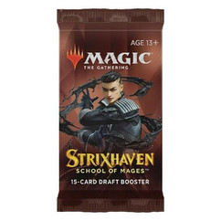 Magic: The Gathering - Strixhaven - School of Mages Draft Booster Pack