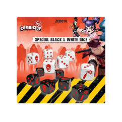 Zombicide 2nd Edition: Special Black & White Dice