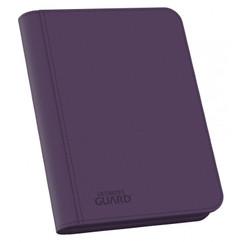 Ultimate Guard: Purple Xenoskin Zipfolio 160 (4-Pocket)