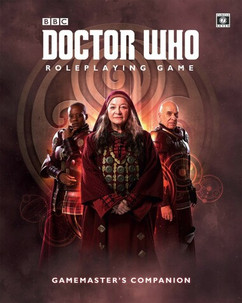Dr Who RPG: The Gamemaster's Companion (Ding & Dent)