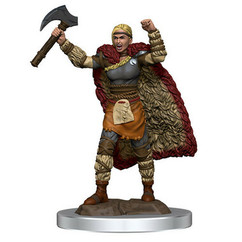 Dungeons & Dragons: Icons of the Realms Premium Miniatures - Female Human Barbarian (Wave 7) (PREORDER)