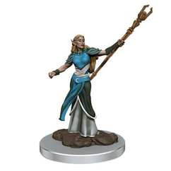 Dungeons & Dragons: Icons of the Realms Premium Miniatures - Female Elf Sorcerer (Wave 7) (PREORDER)