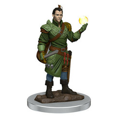 Dungeons & Dragons: Icons of the Realms Premium Miniatures - Male Half-Elf Bard (Wave 7) (PREORDER)