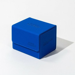 Ultimate Guard: Monocolor Blue - XenoSkin Sidewinder Deck Case 100+