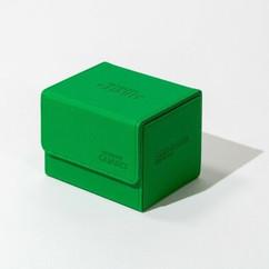 Ultimate Guard: Monocolor Green - XenoSkin Sidewinder Deck Case 100+