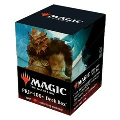 Ultra Pro: MTG - Adventures in the Forgotten Realms - Commander - Vrondiss, Rage of Ancients - Combo Sleeves (100ct) & Deck Box (PRO-100+)