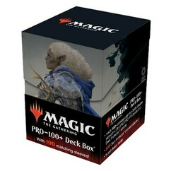 Ultra Pro: MTG - Adventures in the Forgotten Realms - Commander - Galea, Kindler of Hope - Combo Sleeves (100ct) & Deck Box (PRO-100+) (PREORDER)