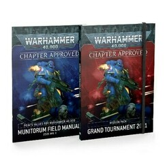 Warhammer 40K: Chapter Approved - Grand Tournament 2021 Mission Pack & Munitorum Field Manual 2021 MkII