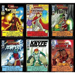 Sentinels of the Multiverse: Knyfe Rogue Agent & The Prime Wardens Expansion Cards (6)