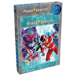 Power Rangers Heroes of the Grid: Rise of the Psycho Rangers - Puzzle (1000pcs) (PREORDER)