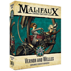 Malifaux 3E: Vernon & Welles (Explorers Society)