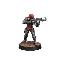 Infinity: Nomads - Intruder, Corregidor Assault Commando (HMG)