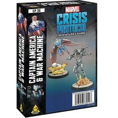 Marvel Crisis Protocol: Captain American & War Machine