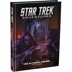 Star Trek Adventures RPG: Klingon Empire Core Book (Ding & Dent)