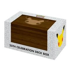 Ultra Pro Deck Box: Pokemon 25th  Celebration (PREORDER)