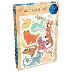 The Tea Dragon Society: The Common Varieties of Tea Dragon - Puzzle #1 (1000pcs) (PREORDER)