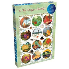 The Tea Dragon Society: Circles - Puzzle #1 (1000pcs) (PREORDER)