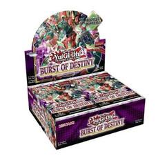 Yu-Gi-Oh!: Burst of Destiny Booster Box 1st Edition (Bulk Discounts) (PREORDER)