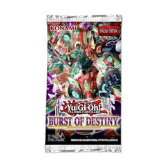 Yu-Gi-Oh!: Burst of Destiny Booster Pack 1st Edition (PREORDER)