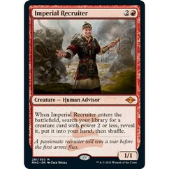 Imperial Recruiter: Mythic #281 - Modern Horizons 2 (Foil Etched)