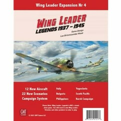 Wing Leader: Legends 1937-1945 Expansion #4