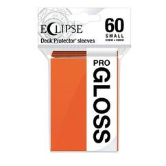 Ultra Pro Sleeves: Pumpkin Orange - Eclipse Gloss, Small (60ct) (PREORDER)