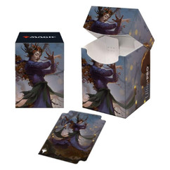 Ultra Pro: Innistrad - Midnight Hunt - Leinore, Autumn Sovereign Commander Combo Sleeves (100ct) & Deck Box (PRO-100+)