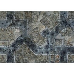 """Conquest: The Last Arguments of Kings - Warzone City Playmat (48""""X48"""")"""