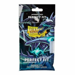 Dragon Shield: Clear Perfect Fit - Japanese Size Inner Sleeves (100ct)