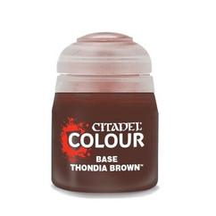 Citadel Colour Base Paint: Thondia Brown (12ml)