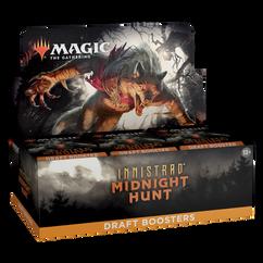 Magic: The Gathering - Innistrad - Midnight Hunt - Draft Booster Box (Bulk Discounts)