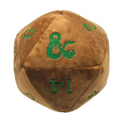 Ultra Pro Plush: Jumbo D20 Novelty Dice - Dungeons & Dragons - Feywild Copper & Green (PREORDER)