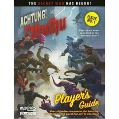 Achtung! Cthulhu 2D20 RPG: Player's Guide (PREORDER)