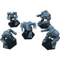 BattleTech: Miniature Force Pack - Clan Support Star (PREORDER)