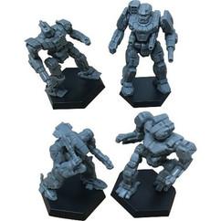 BattleTech: Miniature Force Pack - Inner Sphere Heavy Lance (PREORDER)