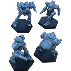 BattleTech: Miniature Force Pack - Inner Sphere Striker Lance (PREORDER)