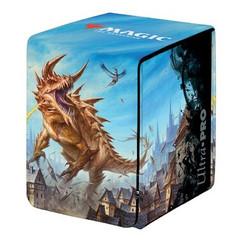 Ultra Pro Deck Box: MTG - Adventures in the Forgotten Realms - The Tarrasque (Alcove Flip)