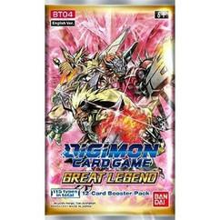 Digimon TCG: Great Legend Booster Pack BT-04
