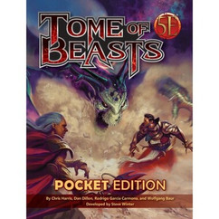 Tome of Beasts: Pocket Edition (5E) (PREORDER)
