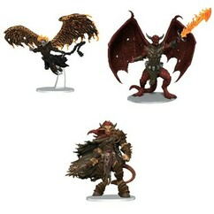 Dungeons & Dragons: Icons of the Realms - Archdevils: Bael, Bel & Zariel (PREORDER)