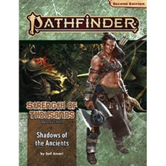 Pathfinder RPG 2nd Edition: Adventure Path #174 - Shadows of the Ancients (Strength of Thousands 6 of 6) (PREORDER)