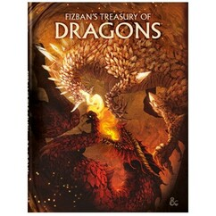 Dungeons & Dragons 5E RPG: Fizban's Treasury of Dragons (Alternate Cover) (PREORDER)