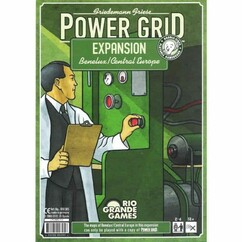 Power Grid: Benelux / Central Europe Expansion (PREORDER)