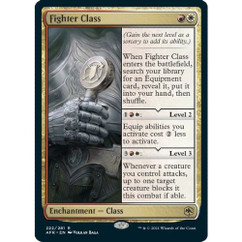 Fighter Class: Rare #222 - Adventures in the Forgotten Realms (Foil)